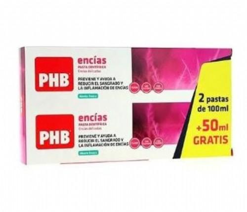 Phb encías pasta duplo 2 x 100 ml - phb