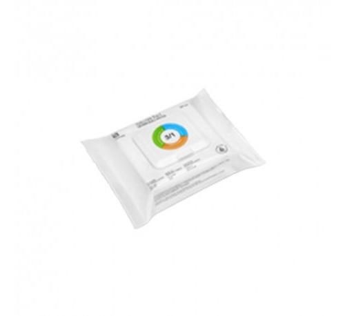 Interapothek  toallitas 3 en 1 desmaquilladoras (24 toallitas)