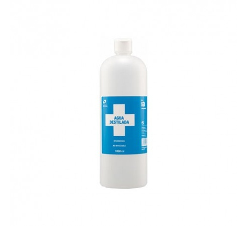 Agua destilada interapotek 1l