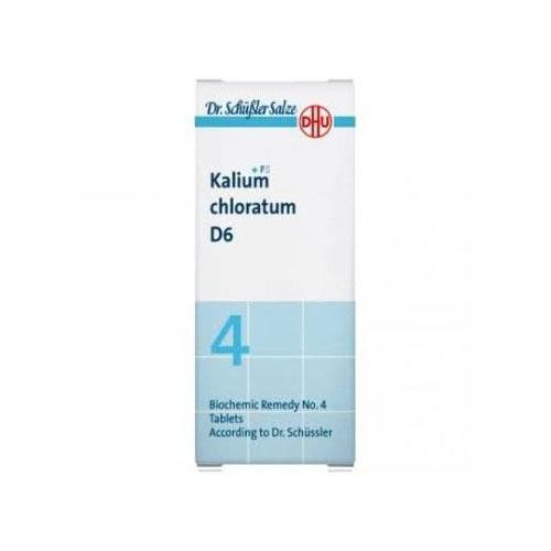 Kalium chloratum d6 comp