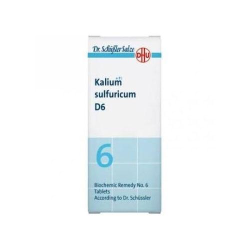 Kalium sulfuricum d6 80 comprimido