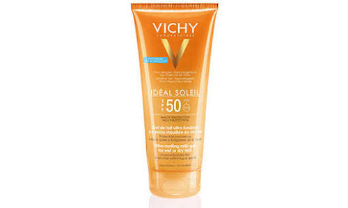 Ideal soleil spf 30 gel hidratante trasparente (200 ml)