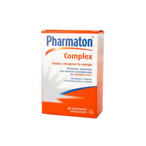 Pharmaton complex (20 comprimidos efervescentes)
