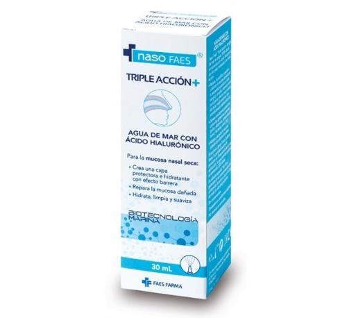 Naso faes triple accion+ limpieza nasal (30 ml)