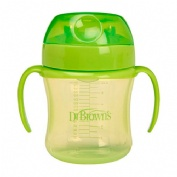 Vaso transicion boquilla suave - dr brown´s (+ 6 m 180 ml)
