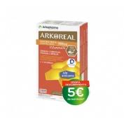 Arkoreal jalea real vitaminada sin azucar (15 ml 20 ampollas)