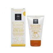 Apivita suncare aceite facial color +30spf 50ml