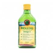 Moller´s aceite de bacalao (sabor limon 250 ml)