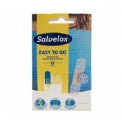 Salvelox easy to go - aposito adhesivo transparente (12 u)