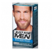 Just for men bigote y barba - gel colorante (30 cc castaño claro)