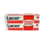 Lacer pasta dental 125 g duplo