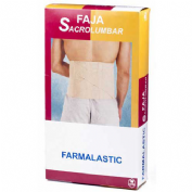 Faja sacrolumbar - farmalastic (contorno cint   75-90  cm t-1)