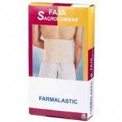 Faja sacrolumbar - farmalastic (contorno cint 105-120 cm t-3)