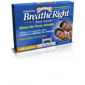 Rhinomer by breathe right - tira adh nasal (clasicas 10 u)