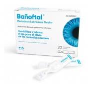 Bañoftal gotas oftalmicas (20 monodosis 0.4 ml)