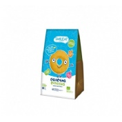 Smileat galletas de espelta y manzana 220g