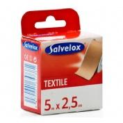 Esparadrapo - salvelox (textil carne 5 x 2.5)