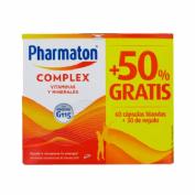 Pharmaton complex (60 + 30 capsulas pack promocional)