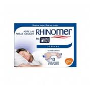 Rhinomer by breathe right - tira adh nasal (clasicas t- peq-med 10 u)
