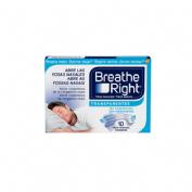 Rhinomer by breathe right - tira adh nasal (transparentes 10 u)
