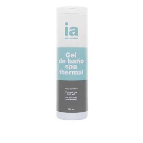 Interapothek gel de baño con exto malaquita - spa thermal (750 ml)