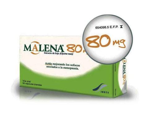 MALENA 80 mg CAPSULAS BLANDAS, 30 cápsulas