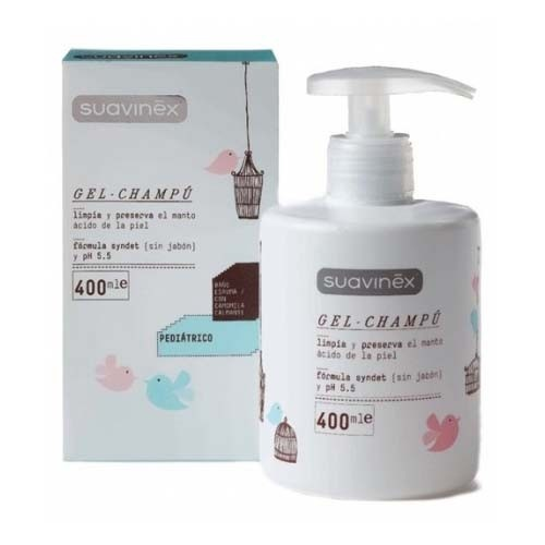 Suavinex pediatric Gel Champú 400ml