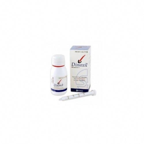 DINAXIL SOLUCION TOPICA CAPILAR,2 frascos de 60 ml
