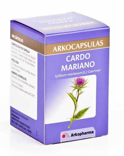 Arkocapsulas cardo mariano 100 cap