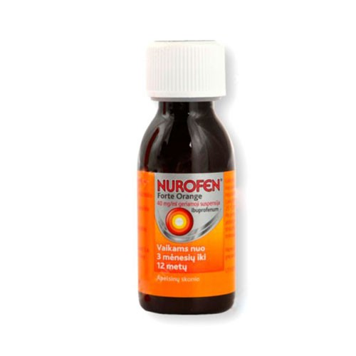 NUROFEN 40 MG/ML SUSPENSION ORAL , 1 frasco de 150 ml