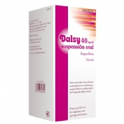 DALSY 40 mg/ml SUSPENSION ORAL , 1 frasco de 150 ml