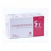 COMPLIDERMOL 5ALFA (60 CAPS)