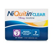 NIQUITIN CLEAR 14 mg, 24 HORAS PARCHE TRANSDERMICO , 14 parches