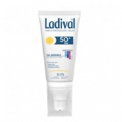 Ladival piel sensible o alergica fps 50+ - fotoprotector facial (gel-crema 50 ml)