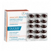Anacaps reactiv cabello y uñas - ducray (30 caps)