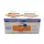 Resource aqua + gelificada (125 g  4 tarrinas naranja)