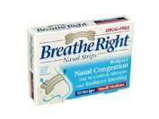 Breathe right tira nasal transp t- peq-med 10 u