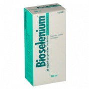 BIOSELENIUM 25 mg/ml  SUSPENSION CUTANEA , 1 frasco de 100 ml