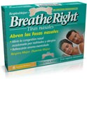 Rhinomer by breathe right - tira adh nasal balsamica (mentoladas 8 u)