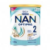 Nan optipro 2 leche lactantes de continuacion (800 g)