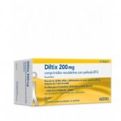 DILTIX 200 MG COMPRIMIDOS RECUBIERTOS CON PELICULA EFG 20 comprimidos