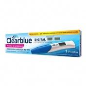 Clearblue prueba digital de embarazo - test de embarazo indicador de semanas (1 prueba)