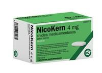 NICOKERN 4 MG CHICLES MEDICAMENTOSOS SABOR MENTA , 108 chicles (PVC/PE/PVDC/AL)