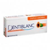 Dentiblanc blanqueador intensivo pasta dental (duplo 100 ml 2 u)