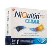 NIQUITIN CLEAR 21 mg/24 HORAS PARCHES TRANSDERMICOS, 14 parches transdérmicos