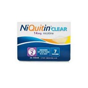NIQUITIN CLEAR 14 MG/24 HORAS PARCHE TRANSDERMICO 7 parches transdermicos