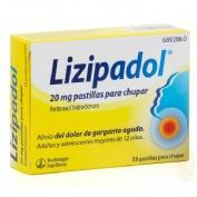 LIZIPAINA® AMBROXOL 20 MG PASTILLAS PARA CHUPAR , 18 pastillas