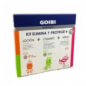 Goibi antipiojos elimina champu + locion + spray (kit)