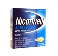 NICOTINELL 21 mg/24 HORAS PARCHE TRANSDERMICO, 28 parches