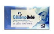 Balsamo bebe toallitas 24 und